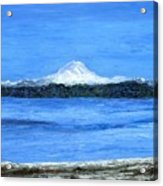 Mt. Rainier Acrylic Print