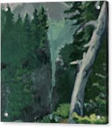 Mt Ranier Acrylic Print