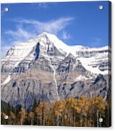 Mt. Robson- Canada's Tallest Peak Acrylic Print