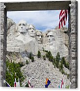 Mt Rushmore Entrance Acrylic Print