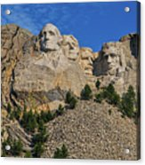 Mount Rushmore-2 Acrylic Print