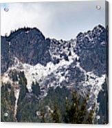 Mt. Si South View Acrylic Print