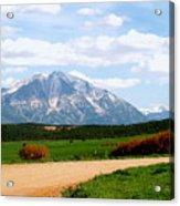 Mt. Sopris II - A Colorado Landscape Acrylic Print