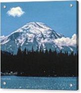 Mt. St. Helens 1975 Acrylic Print