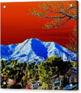 Mt Tamalpais From Another World Acrylic Print