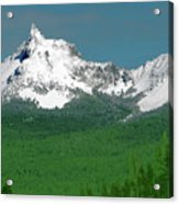 Mt Thielson Coated Acrylic Print