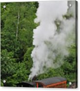 Mt Washington Cog Railroad Acrylic Print
