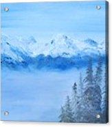 Mt. Whistler Canada  Acrylic Print