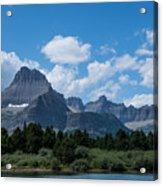Mt Wilbur In Glacier National Park Acrylic Print