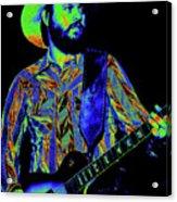 Mtb77#67 Enhanced In Cosmicolors Acrylic Print