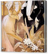 Mucha: Biscuit Ad, C1895 Acrylic Print
