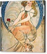 Mucha: Poster, 1898 Acrylic Print