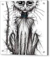 Mucky Cat Acrylic Print