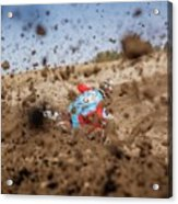 Mud Action Acrylic Print