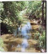 Muddy Hickory Creek  Acrylic Print