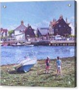 Mudeford Quay Christchurch From Hengistbury Head Acrylic Print