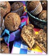 Muffins Acrylic Print