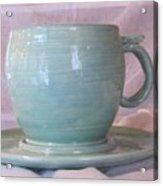Mug And Saucer Acrylic Print