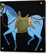 Mughal Horse Acrylic Print