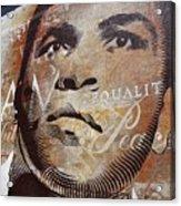 Muhammad Ali Mural Acrylic Print