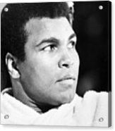 Muhammed Ali (b. 1942) Acrylic Print by Granger