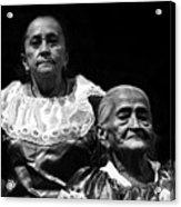 Mujeres Salvadorenas  Acrylic Print