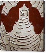Mukama Atulabba - God Sees Us - Tile Acrylic Print