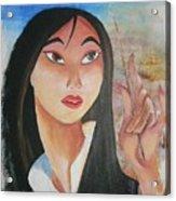 Mulan Acrylic Print