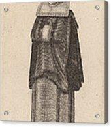 Mulier Generosa Viennensis Austri Acrylic Print