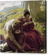 Mulready: Sonnet, 1839 Acrylic Print