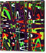 Multi Color Abstract Acrylic Print