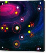 Multi-colored Constellation  Acrylic Print