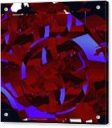 Multi Dimensional Martian Machine Acrylic Print