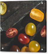 Multicolored Cherry Tomatoes Acrylic Print