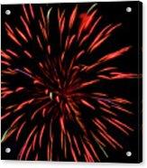 Multicolored Fireworks 2 Acrylic Print