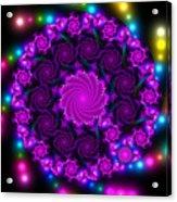 Multicolored Mosaica Acrylic Print