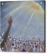 Multitude Of Worshippers Acrylic Print