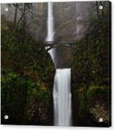 Multnomah Fall Acrylic Print