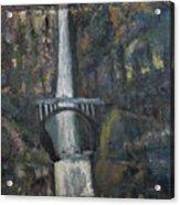 Multnomah Falls, Oregon Acrylic Print