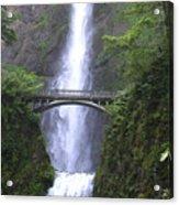 Multnomah Falls Wf1051a Acrylic Print