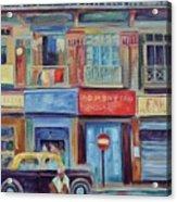 Mumbai Business District  Acrylic Print