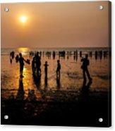 Mumbai Sunset Acrylic Print