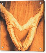Mummies Love Halloween Acrylic Print