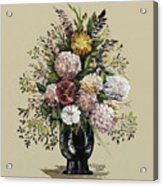 Mums Bouquet Acrylic Print