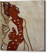 Mums Parcel - Tile Acrylic Print