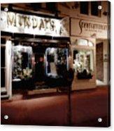 Mundays Acrylic Print