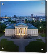 Munich Koenigsplatz Impressions Acrylic Print