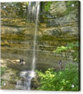 Munising Waterfall Acrylic Print