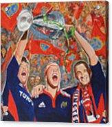 Munster Heiniken Cup Winners 2008 Acrylic Print
