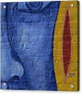 Mural Face Acrylic Print